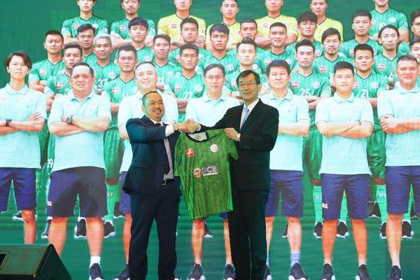 Sài Gòn FC được tài trợ hơn 100 tỷ cho mùa bóng 2021