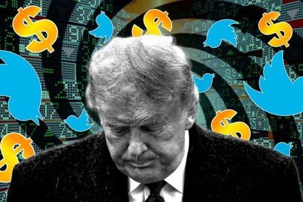 Cổ phiếu Twitter giảm 6% sau khi khóa tài khoản của ông Trump vĩnh viễn