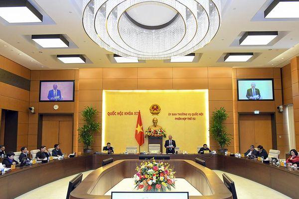 Thường vụ Quốc hội thông qua nhiều Nghị quyết quan trọng