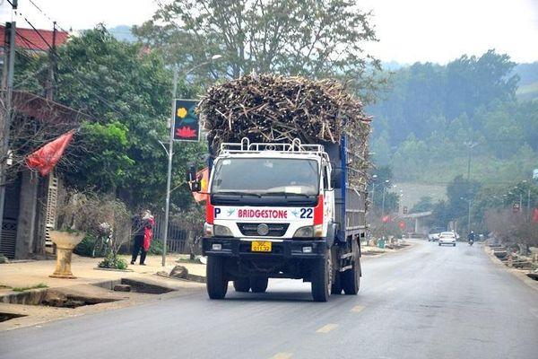 Quốc lộ ở Thanh Hóa 'oằn mình' gánh xe tải cơi nới thành thùng chạy ngày đêm