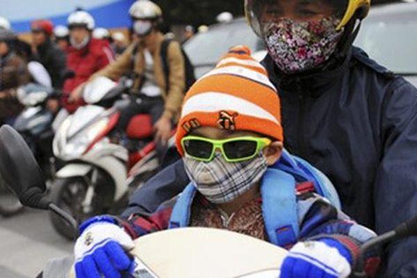 Nhiệt độ xuống thấp, nhiều địa phương cho học sinh nghỉ học