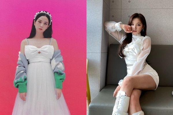 Đỉnh như Yuqi (G)I-DLE: Mặc chiếc váy giống Jisoo BLACKPINK mà nhìn mãi mới nhận ra