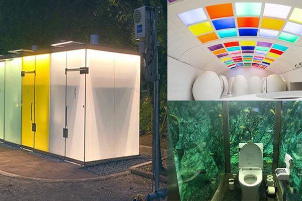 Những thiết kế nhà vệ sinh độc lạ khiến bạn không tin là chúng có thật