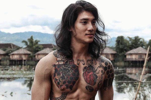 5 nam người mẫu nổi tiếng với mái tóc dài lãng tử