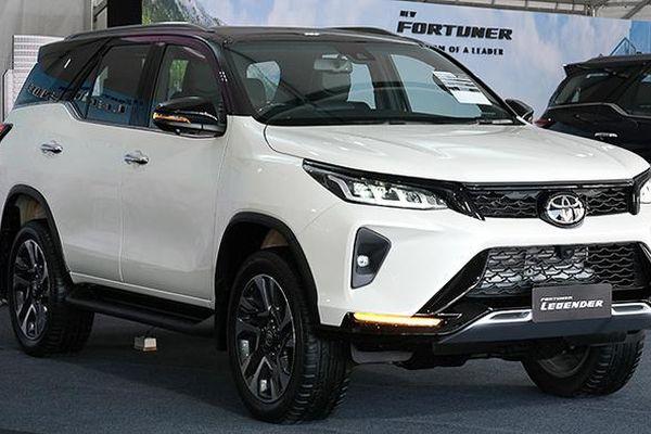 Giá xe ô tô hôm nay 13/1: Toyota Fortuner thấp nhất ở mức 995 triệu đồng