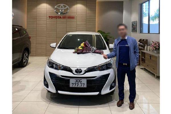 Xe giá rẻ Toyota Vios 'ngũ quý 7' tại Hà Nội sẽ có giá cao