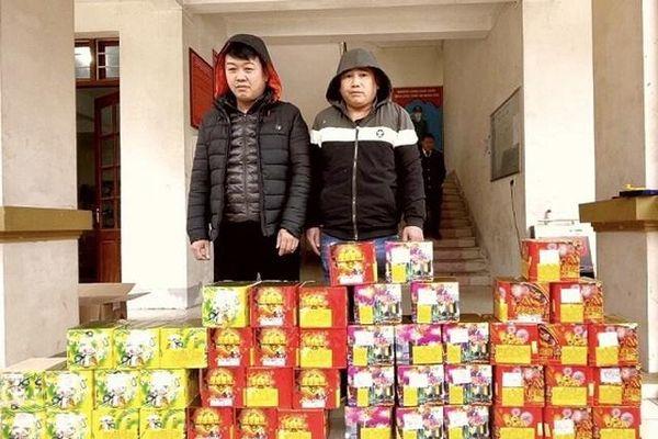 Hà Giang: Liên tiếp bắt giữ các đối tượng vận chuyển pháo nổ trái phép