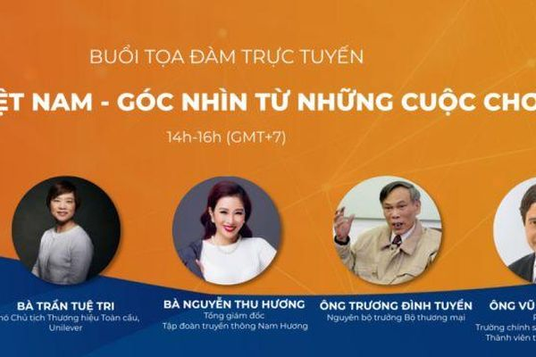 AVSE Global tổ chức Tọa đàm trực tuyến 'Bản sắc Việt Nam: Góc nhìn từ những cuộc chơi lớn'