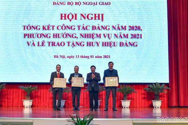 Đảng bộ Bộ Ngoại giao tổ chức Hội nghị tổng kết năm 2020
