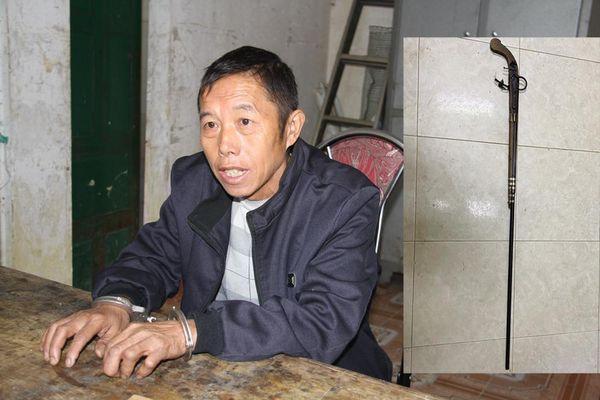 Thị xã Sa Pa: Chồng say rượu dùng súng tự chế bắn trọng thương vợ