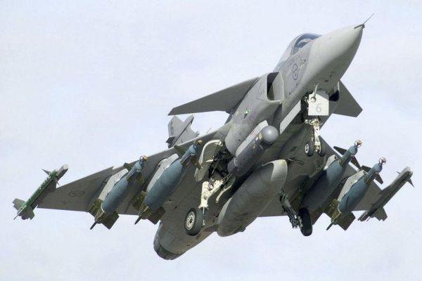 Thụy Điển công bố kế hoạch phát triển không quân