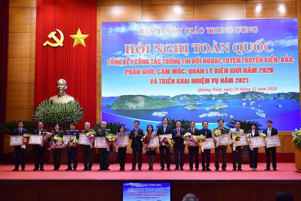 Công tác thông tin đối ngoại trong năm 2020 góp phần khẳng định vai trò lãnh đạo của Đảng Cộng sản Việt Nam