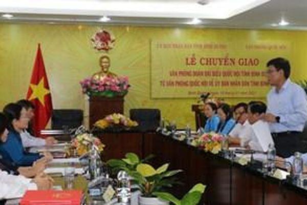Bình Dương: Chuyển giao Văn phòng đoàn đại biểu Quốc hội về UBND tỉnh
