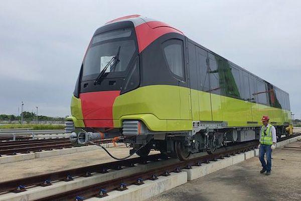 Đoàn tàu tuyến đường sắt Nhổn - ga Hà Nội sẽ được trưng bày cho người dân tham quan