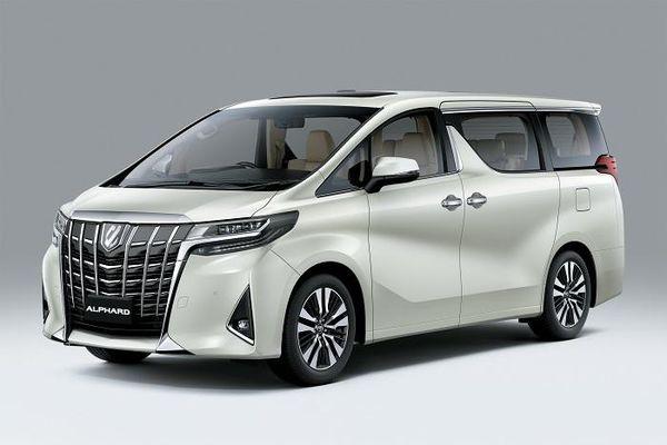 Toyota Alphard 2021 chính thức có mặt tại thị trường Việt Nam