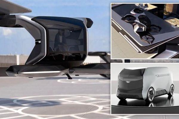 Xe bay Cadillac sở hữu công nghệ như... trong mơ