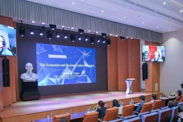 UEH lọt tốp 5 trường đại học có thành tích công bố quốc tế năm 2020