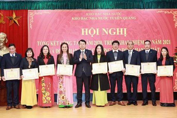 Kho bạc Nhà nước Tuyên Quang - Điểm sáng trong thực hiện dịch vụ công trực tuyến
