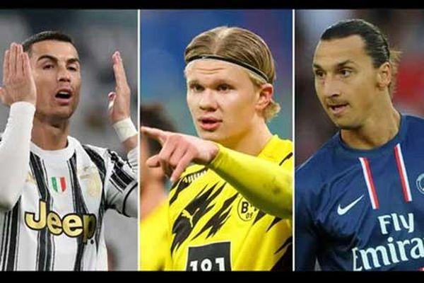 Vượt Ronaldo và Ibrahimovic, Haaland đạt mốc 25 bàn ở giải VĐQG nhanh nhất thế kỷ
