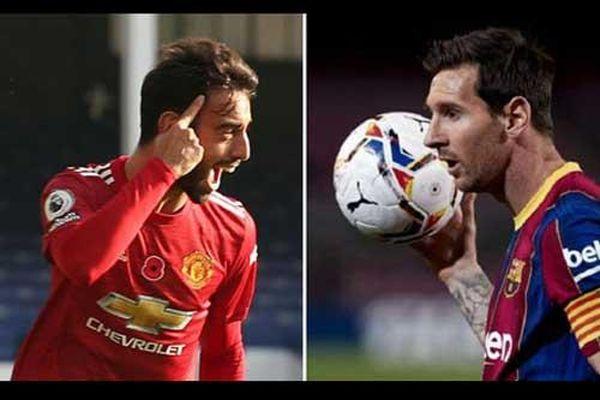 Bruno Fernandes sở hữu thống kê số 1 châu Âu, vượt mặt cả Messi