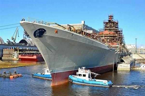 Đối phương nên lo ngại 480 tên lửa của 'Đô đốc Nakhimov'