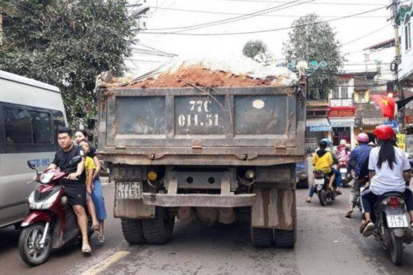 Bình Định chỉ đạo xử nghiêm xe quá tải ở thị xã An Nhơn
