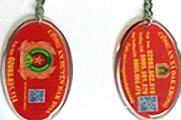 Chiếc móc khóa kết nối Công an và nhân dân