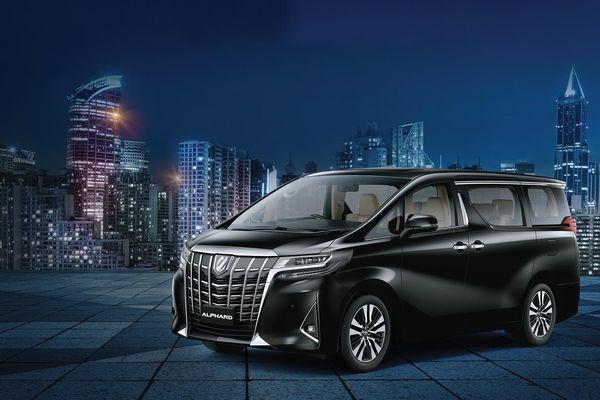 Toyota Alphard 2021 giá hơn 4,2 tỷ đồng về Việt Nam