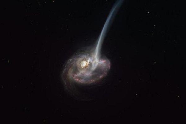 Phung phí khí quý, thiên hà xa xôi đang chết dần chết mòn