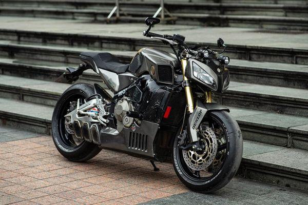 Honda CBR600RR được độ theo phong cách streetfighter tại Hà Nội