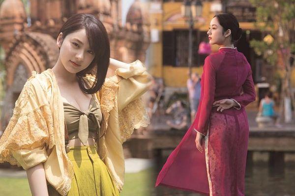 Ngắm bộ ảnh của 'nữ thần thế hệ mới Nhật Bản' khoe sắc tại Đà Nẵng
