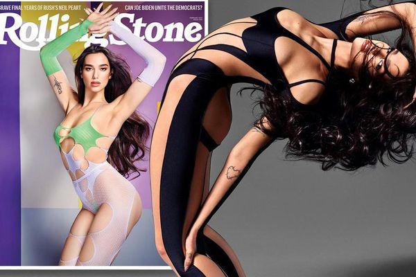 Dua Lipa gây choáng váng với ảnh hở hang táo bạo trên Rolling Stone