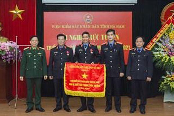 VKSND tỉnh Hà Nam: Xác định đổi mới công tác cán bộ là nhiệm vụ trọng tâm