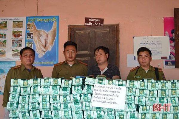 Lào: Phá vụ án ma túy lớn trước khi tuồn sang nước láng giềng