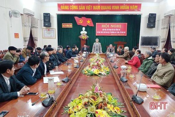Thị ủy Hồng Lĩnh đối thoại với 52 bí thư chi bộ, thôn trưởng, tổ trưởng dân phố