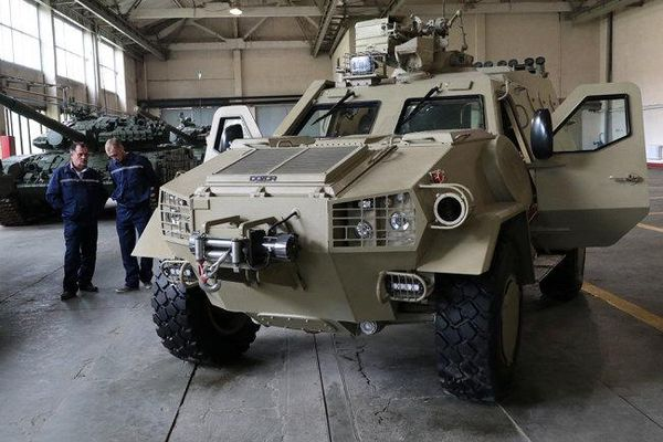 Xe bọc thép Dozor-B của Ukraine sẽ được xuất khẩu