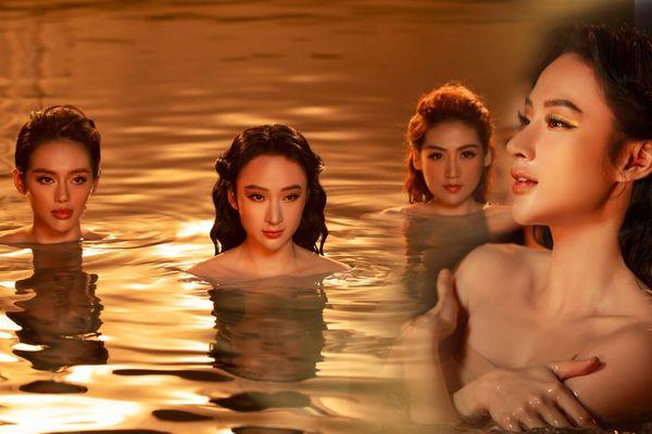 Angela Phương Trinh hé lộ điều chưa biết về cảnh quay bán khỏa thân vào lúc nửa đêm dưới hồ bơi