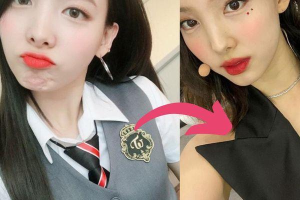Chỉ thay đổi lông mày, Nayeon (Twice) lột xác từ dễ thương thành quyến rũ