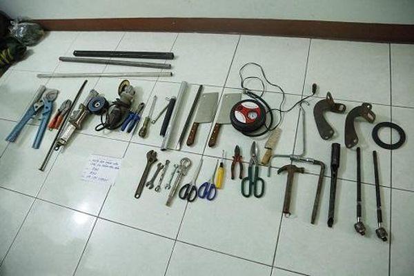 Bình Dương: Bắt 4 đối tượng trong băng trộm liên tỉnh