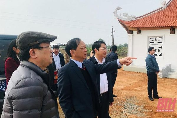 Giám sát công tác quản lý Nhà nước về trùng tu, tôn tạo di tích trên địa bàn huyện Yên Định