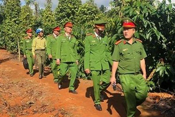 Nỗ lực bảo đảm an ninh, trật tự ở huyện vùng biên