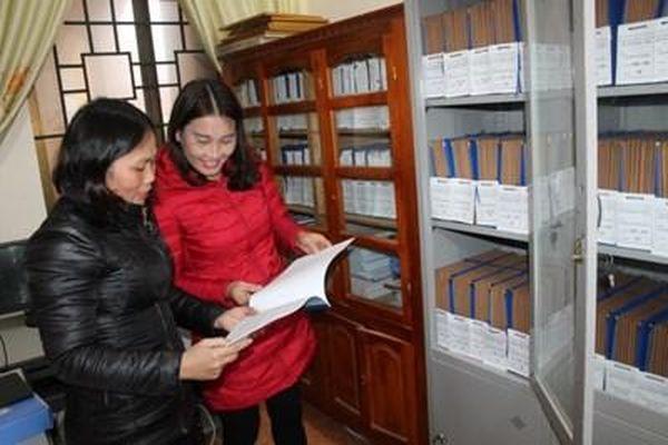 Can Lộc (Hà Tĩnh): Hoàn thành lập hồ sơ, lưu trữ tại Đảng bộ cơ sở