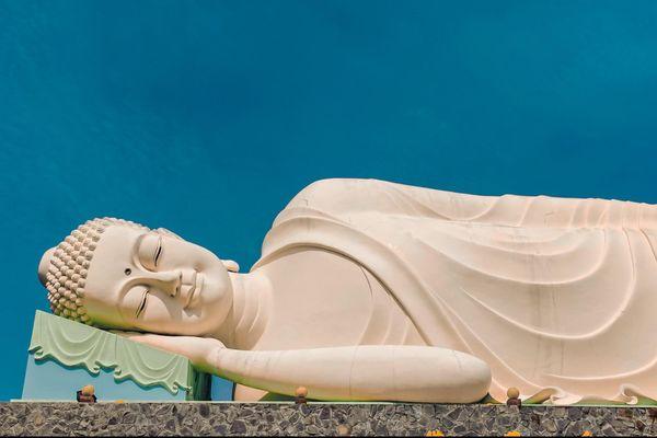 Ngôi chùa ở Tiền Giang có 3 tượng Phật lớn