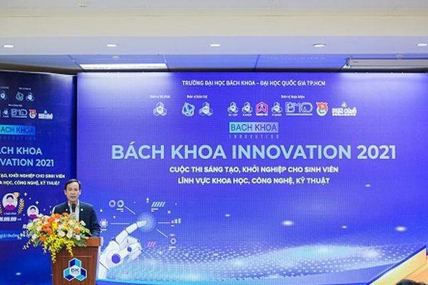 Khởi động cuộc thi 'Bach Khoa Innovation' lần IV năm 2021