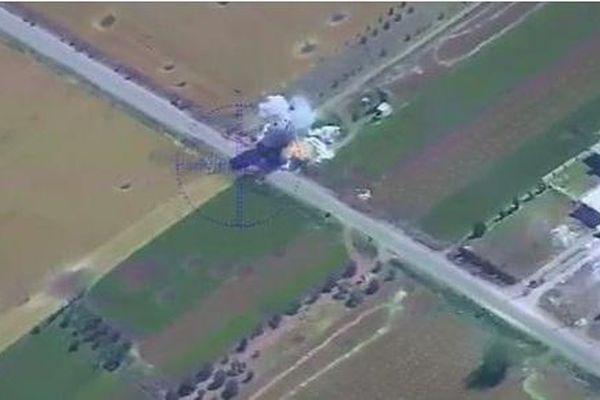 Tình hình chiến sự Syria mới nhất ngày 16/1: UCAV bí ẩn của Nga ra đòn đánh cực chính xác tại Syria