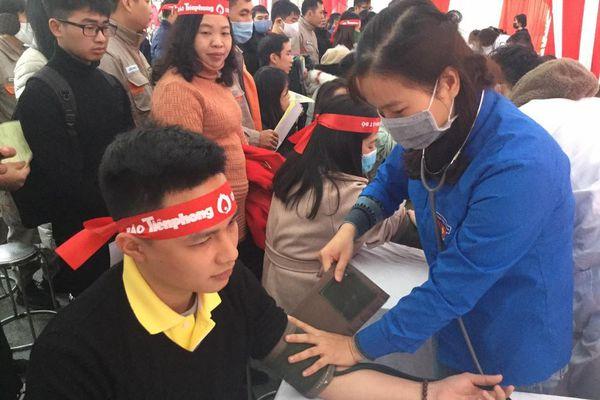 Nồng ấm giọt máu tình nguyện ở Lạng Sơn