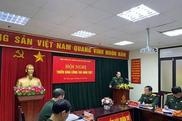 VKS Quân sự Bộ đội Biên phòng triển khai công tác năm 2021