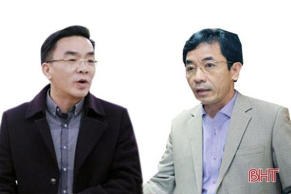 Sở Y tế Hà Tĩnh có 2 phó giám đốc mới