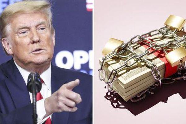 Đế chế kinh doanh Trump gặp khó