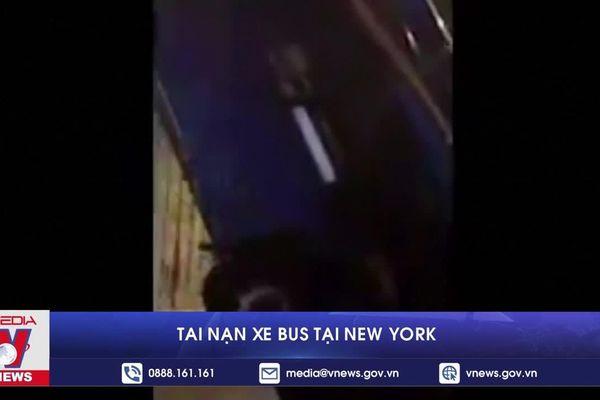 Tai nạn xe bus tại New York